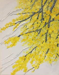 Forsythia with Breeze